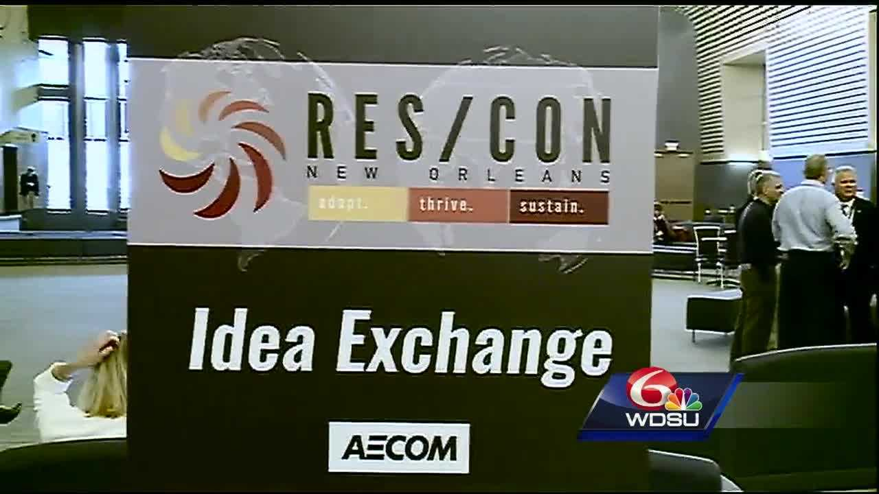 Nearly 700 professionals from all over the world are in town to discuss disaster and resilience at RES/CON New Orleans 2016.