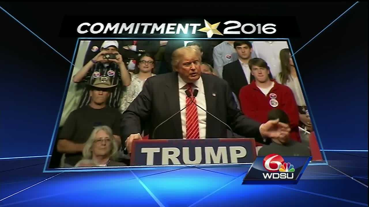 Donald Trump will be at the Landmark Aviation at the Lakefront Airport.