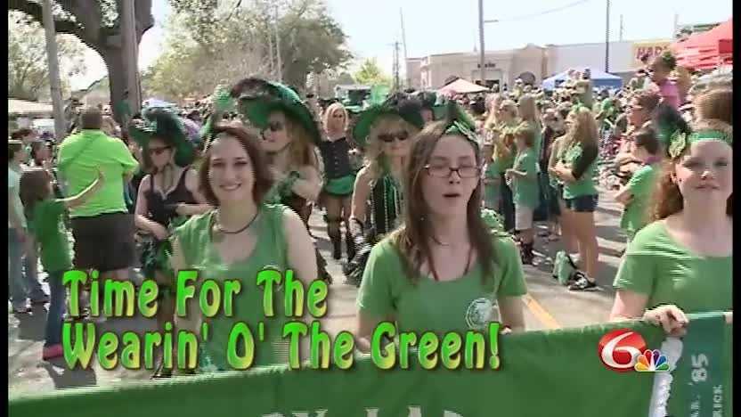 It's time for the wearin' o' the green, ya' heard!