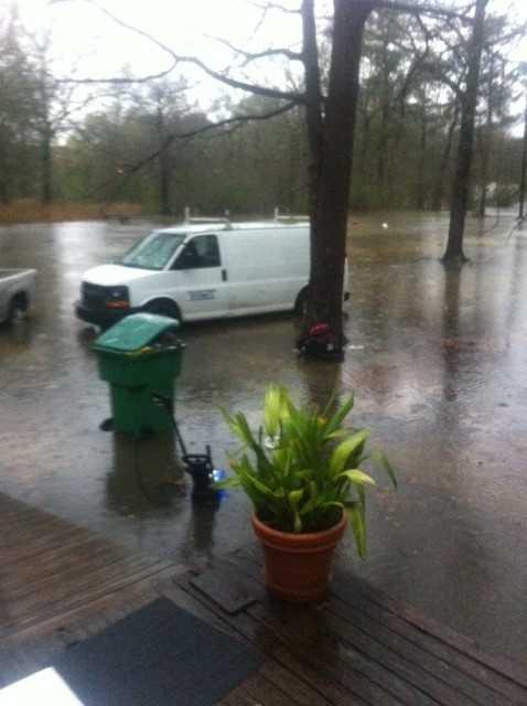 Flooding in Robert.