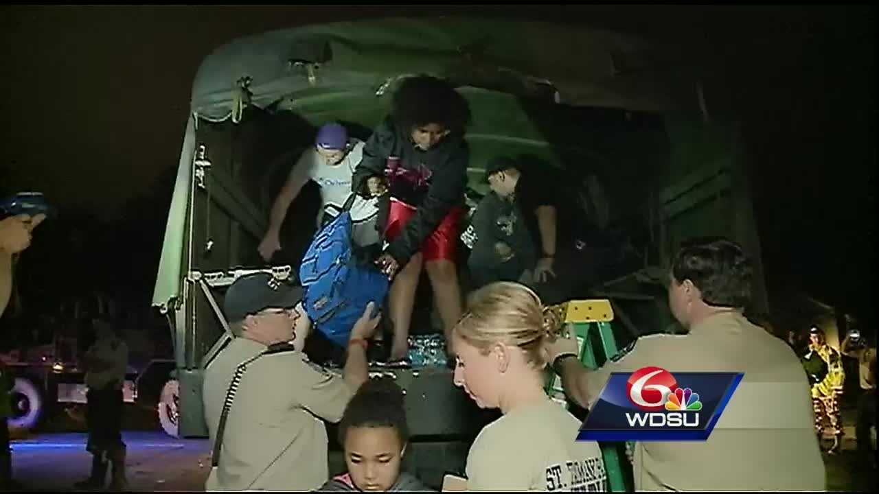 The St. Tammany Parish Sheriff's Office said more than 700 people were rescued since Friday.