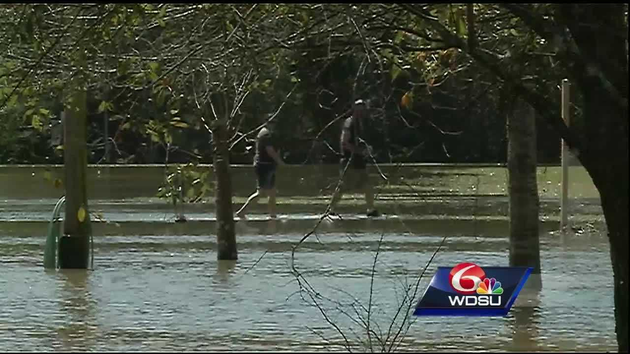 Hundreds of Ponchatoula residents along Highway 22 are waiting to return home two days after storms blew through the area and left widespread flooding.