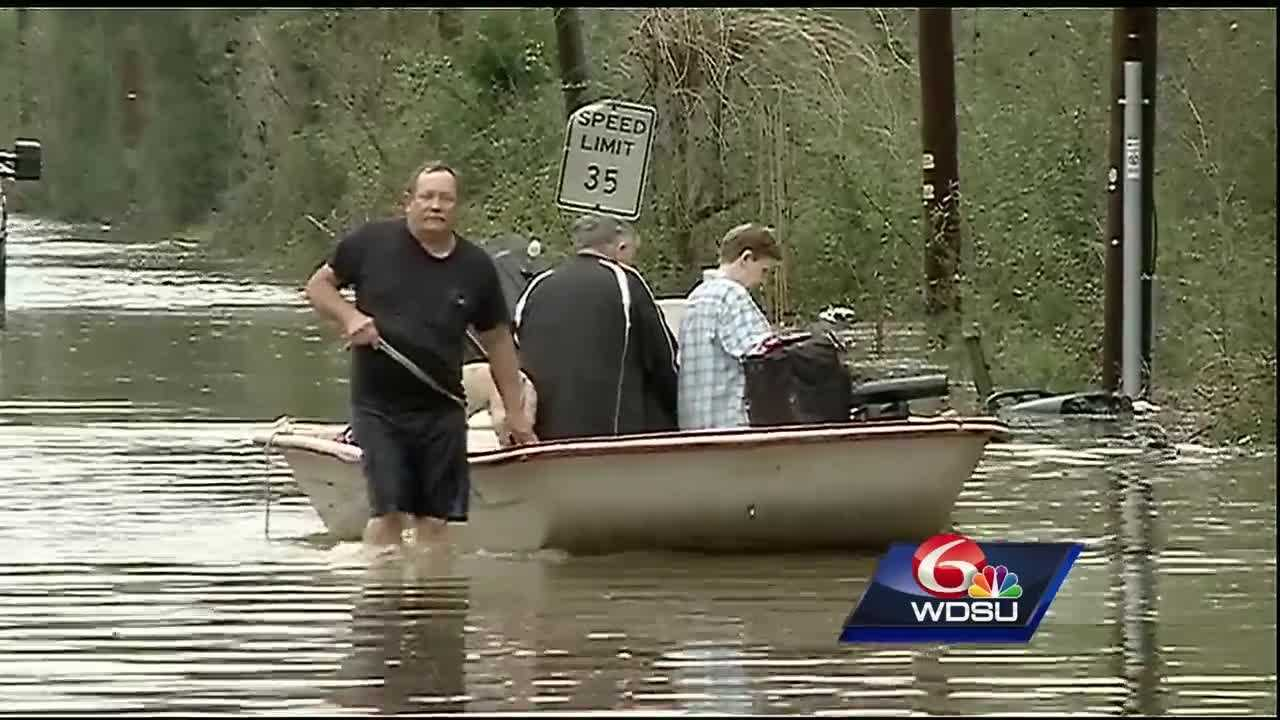 With its rain, rapidly rising water and rescues, last Saturday resembled 2005's Hurricane Katrina.