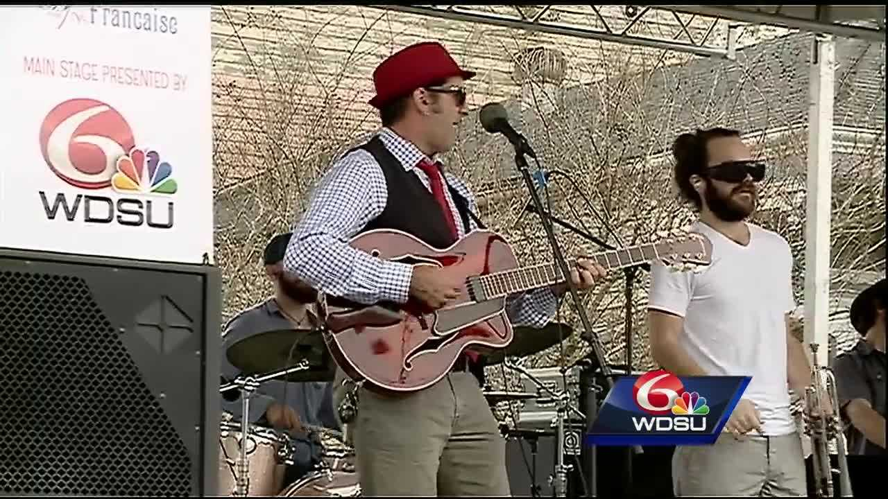 All things French were celebrated Saturday afternoon during the 17th annual Fête Française.
