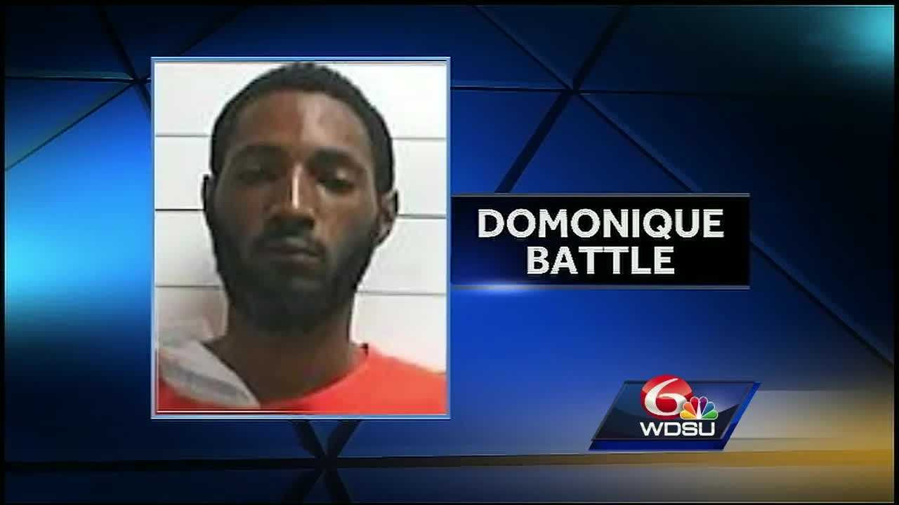 New Orleans Police Superintendent Michael Harrison said Domonique Battle got away while being treated at University Medical Center.