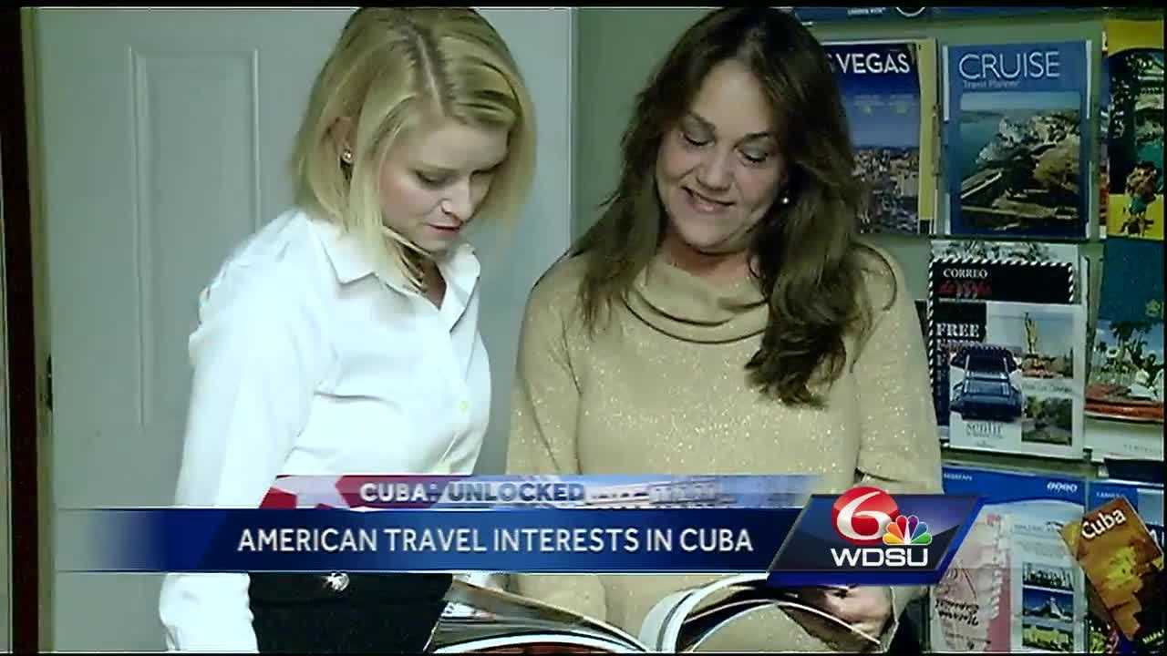 The recently relaxed restrictions between the U.S. and Cuba are helping New Orleans travel businesses capitalize on tourism in the two countries.