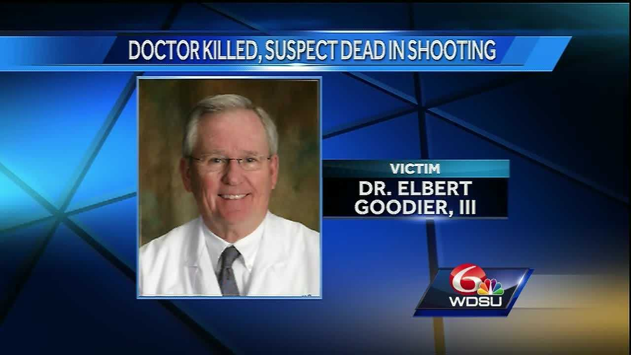Sheriff's deputies continue to investigate the shooting death of a 75-year-old Metairie urologist while the physician treated a patient in his office near East Jefferson General Hospital. Deputies say the suspected shooter then ran to a nearby fast-food restaurant Thursday afternoon where he took his own life.
