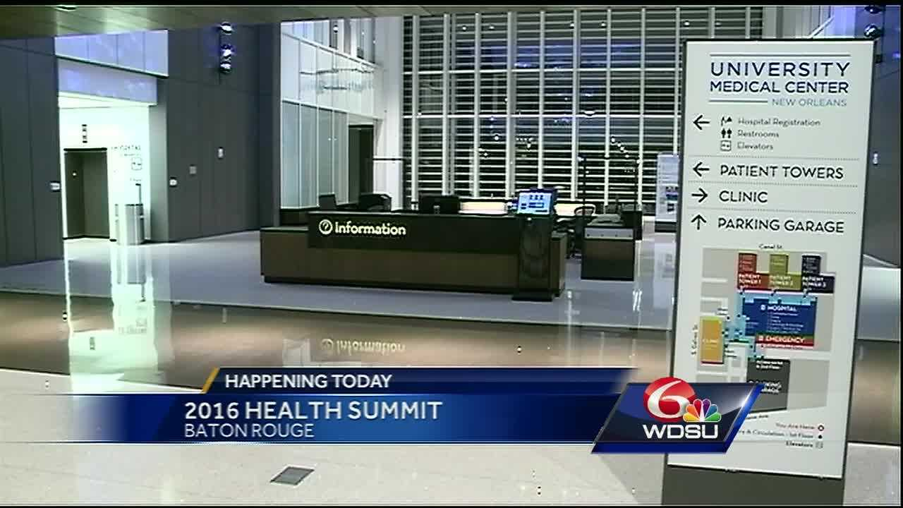 A few days after an announcement of funding cuts to the state health department, Gov. John Bel Edwards will speak Tuesday at the first statewide health care summit in Baton Rouge.