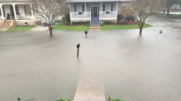 Courtesy: WDSU anchor Randi Rousseau in Lakeview