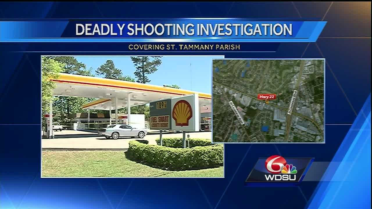Mandeville police have released new information about a man who was shot and killed Monday morning at a gas station.