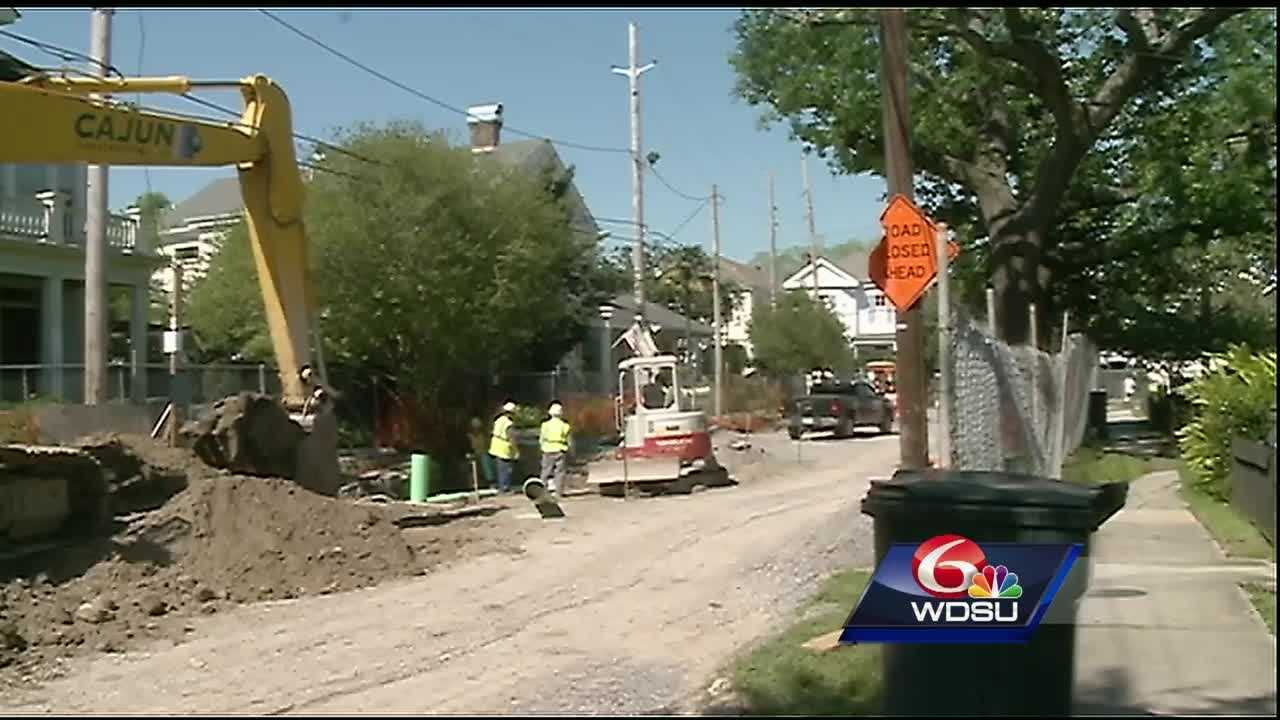 For almost three years, residents on Prytania Street have lived just feet from major construction.