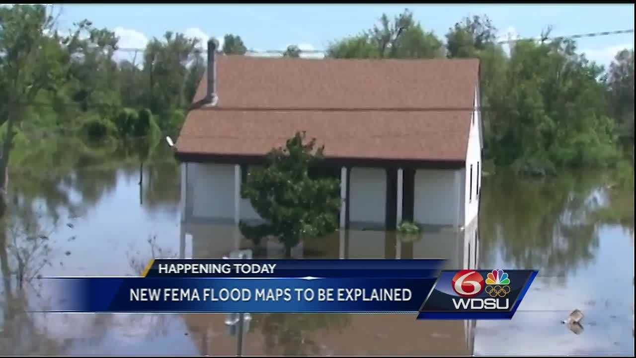 Mayor Mitch Landrieu along with U.S. Rep. Cedric Richmond will lead a discussion to brief residents on the updated Federal Emergency Management Agency flood maps for the Crescent City on Friday.