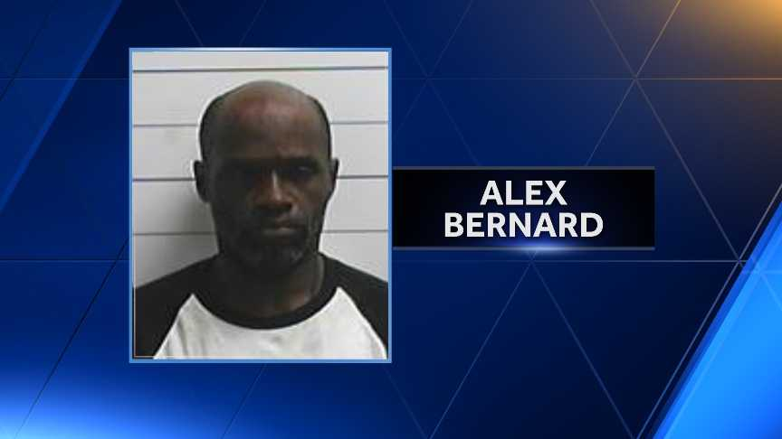 Alex Bernard: Arrested on Dec. 15, 2015. Faces charges of first-degree robbery, aggravated assault and simple battery. Incarcerated without counsel for 105 days.