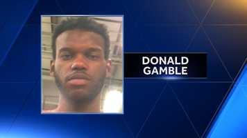 Donald Gamble: Arrested on Feb. 14, 2015. Faces charges of armed robbery with a firearm, aggravated assault with a firearm, contraband and illegal carrying of a weapon. Incarcerated for 409 days -- without counsel for 81 days.