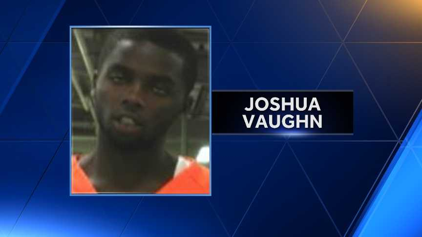 Joshua Vaughn: Arrested July 10, 2015. Faces charges of armed robbery with a firearm, armed robbery, illegal possession of stolen automobile, possession of a firearm or weapon by felon and 3 warrants. Incarcerated for 263 days -- without counsel for 109 days.
