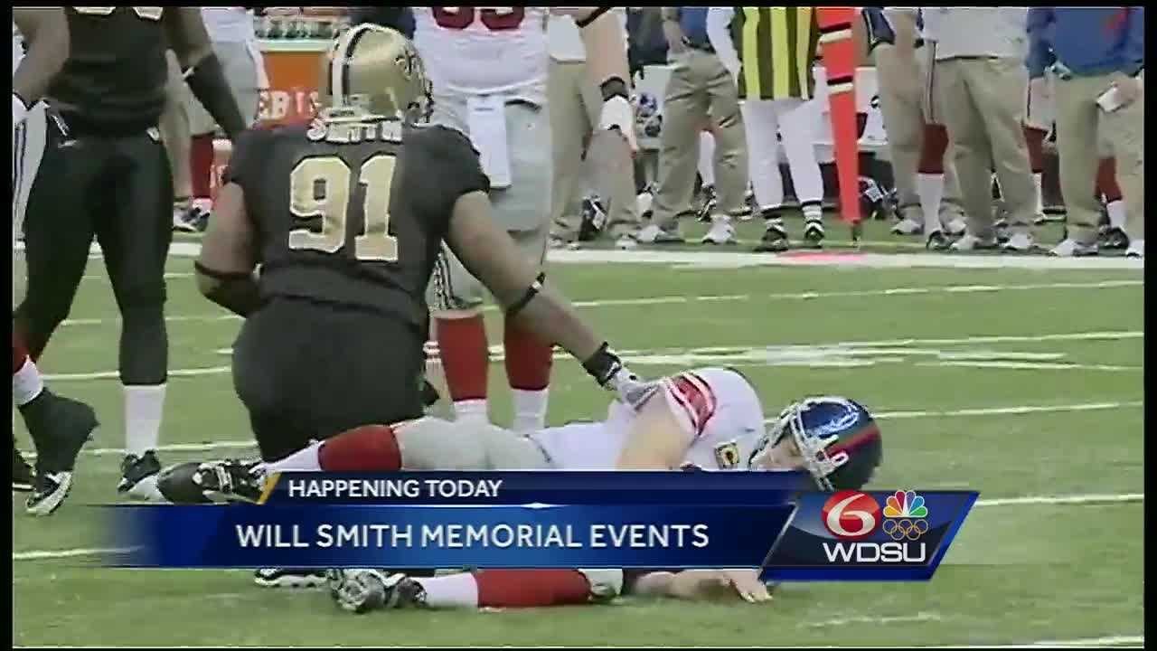 The Who Dat nation will get a chance to say a final farewell to former Saint Will Smith at a public visitation and memorial second line Friday.