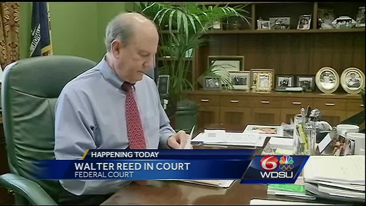 The trial for former St. Tammany Parish District Attorney Walter Reed starts on Monday.