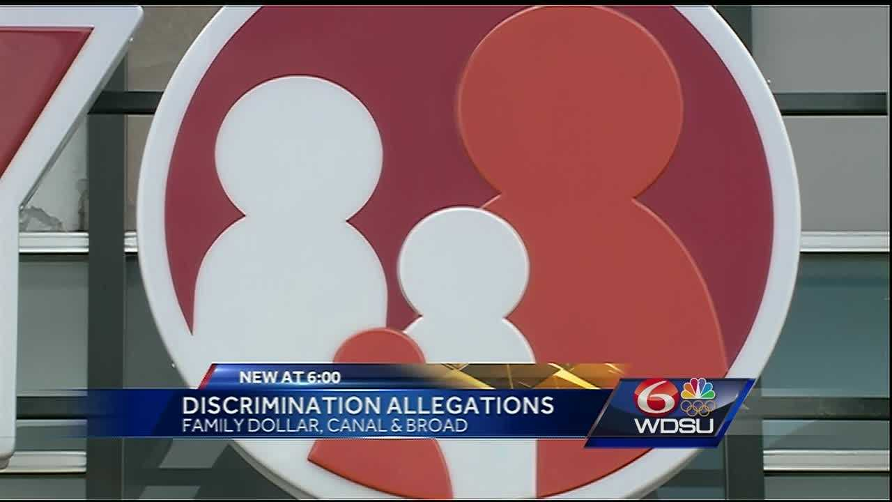 A woman says a Family Dollar clerk refused to serve her because she is gay.