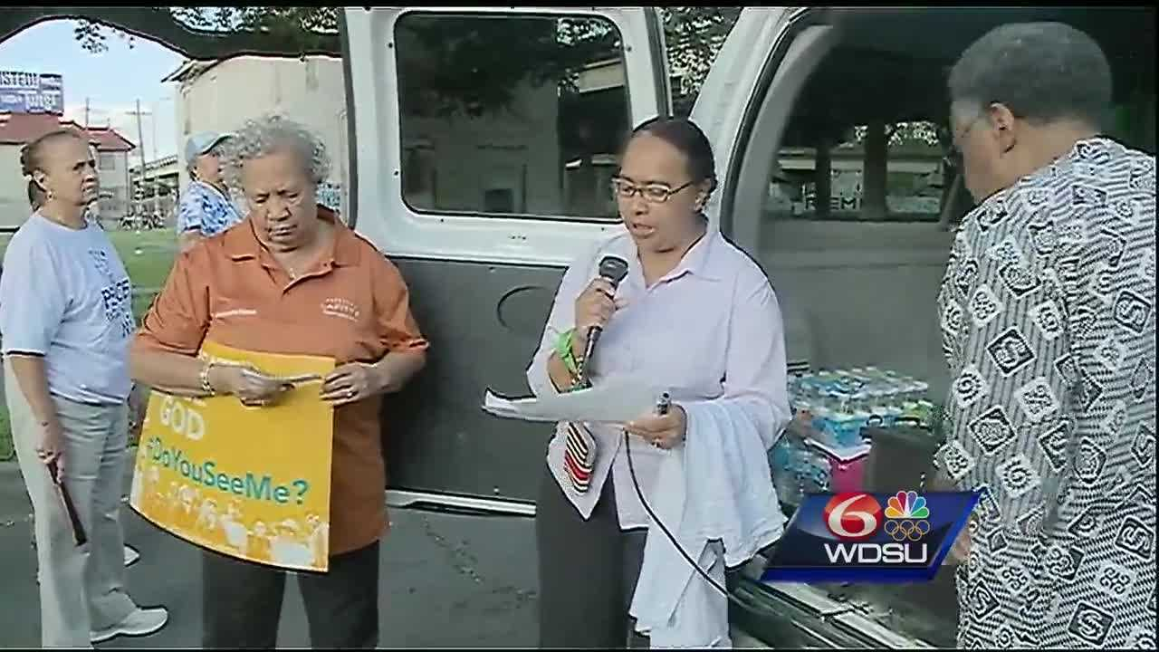 A New Orleans group gathers monthly for a peace walk. WDSU's Casey Ferrand joined them to talk about how the march is connecting communities from across the metro area.