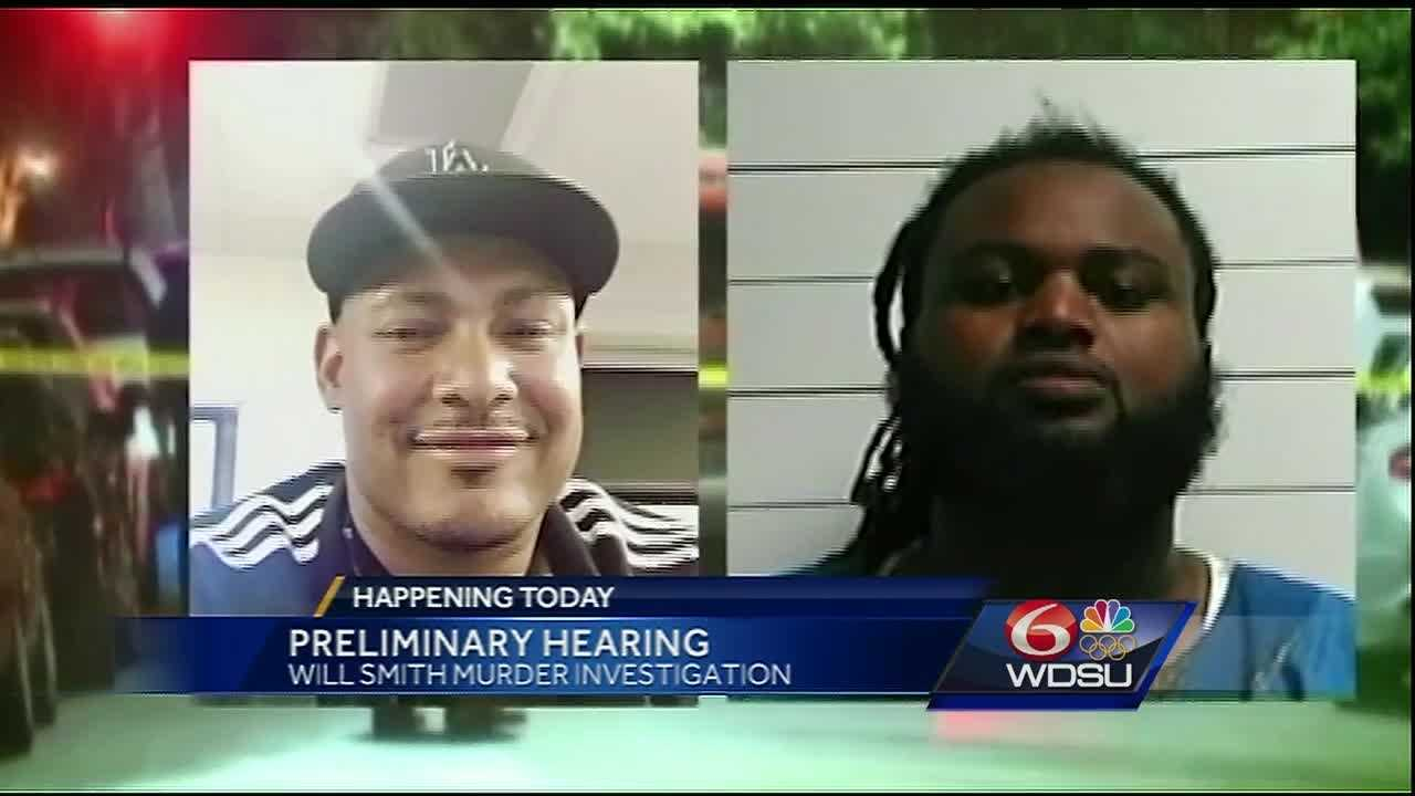 The man accused of shooting and killing former Saint Will Smith is expected to appear before a judge on Thursday morning if the Orleans Parish district attorney does not act first.
