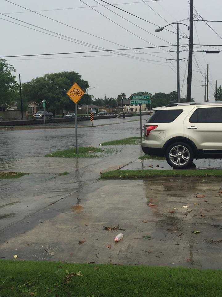 Courtesy: Elisha Brumley at West Esplanade Avenue and Seminole