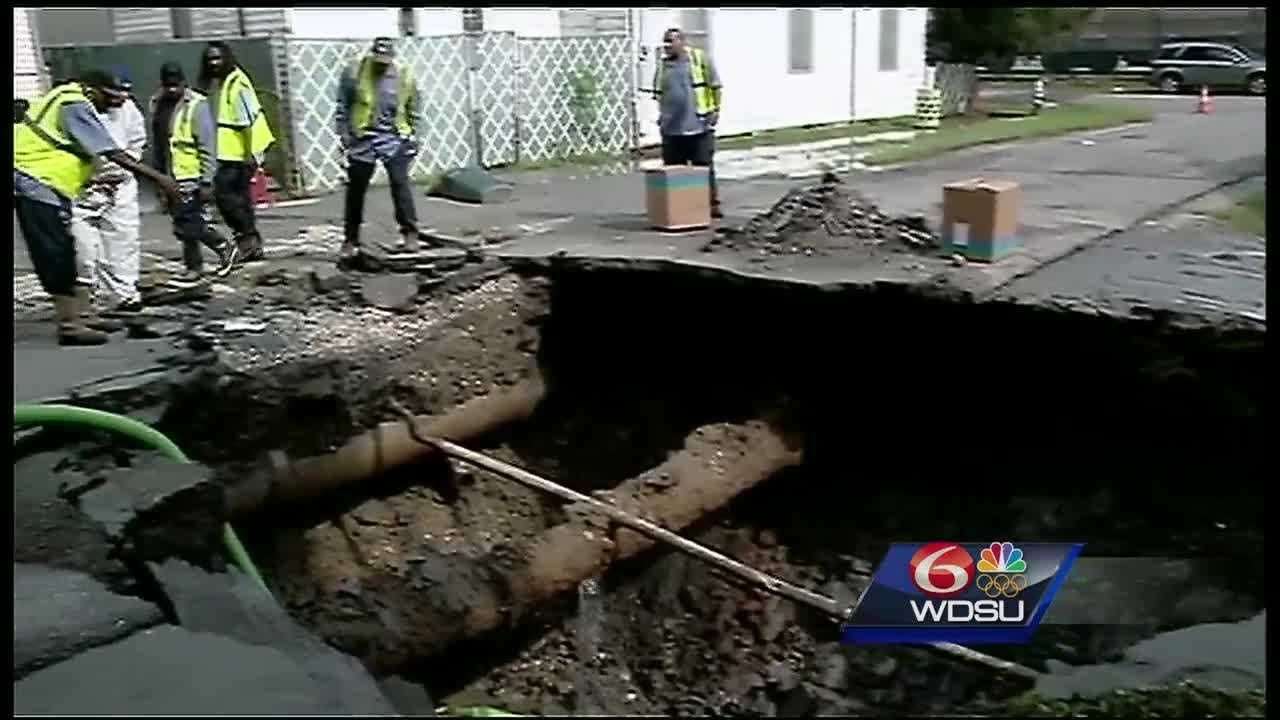 Sinkholes are disrupting life above ground in New Orleans, but the problems are below the surface.