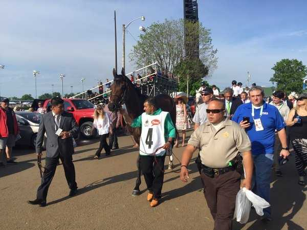 Mo Tom at the Kentucky Derby(Photo by Fletcher Mackel).