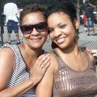 Kweilyn Murphy and her momma. Beautiful ladies!