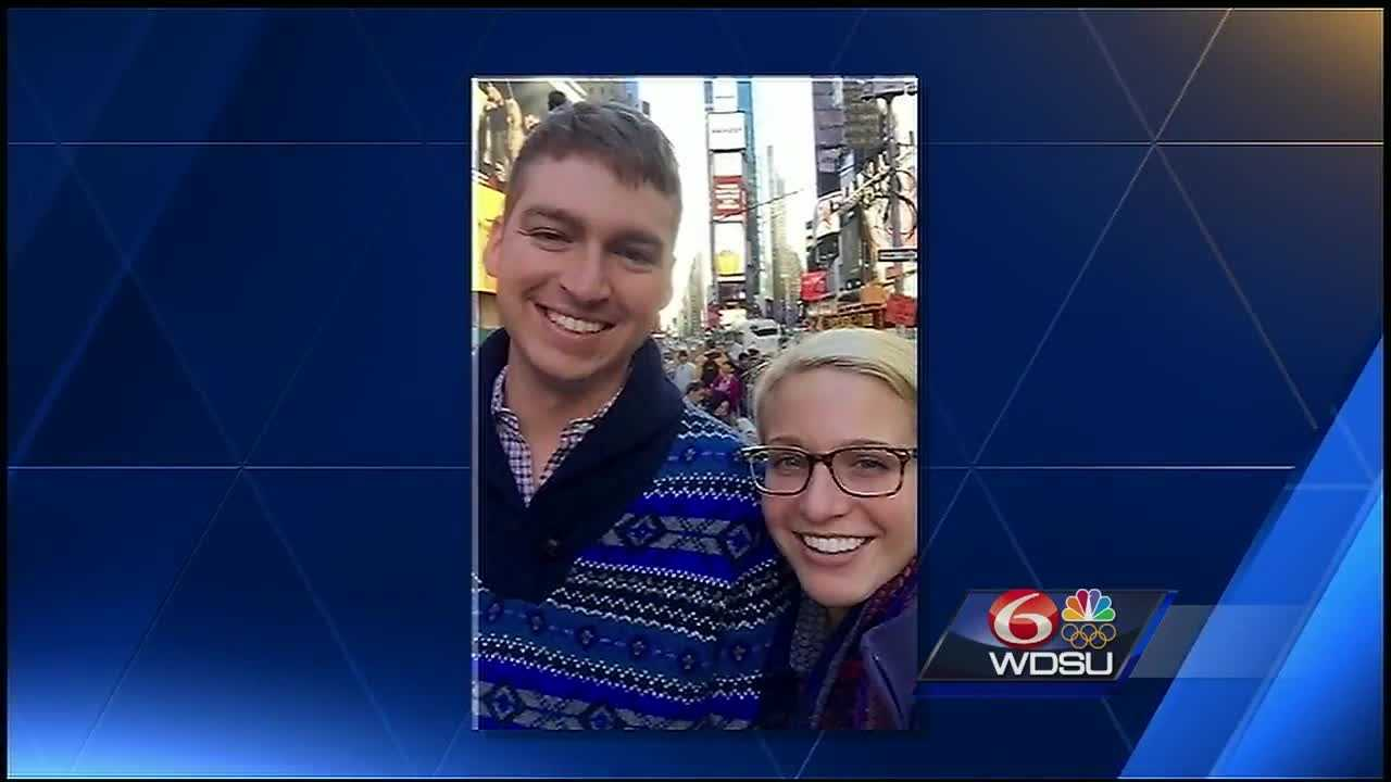 His family said Thomas Rolfes was in New Orleans with his fiancee looking for a wedding venue. His fiancee, originally from Rhode Island, is also a Tulane graduate and the two were engaged last month.