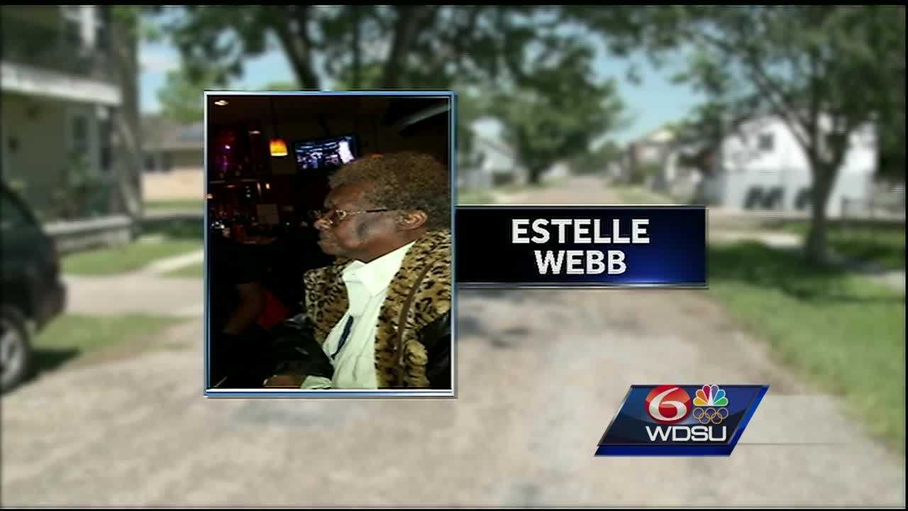 Family members of 88-year-old Estelle Webb are searching for clues to what happened to her.