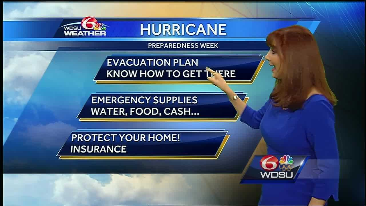 Here's some information and a few tips from Margaret Orr about the upcoming hurricane season.