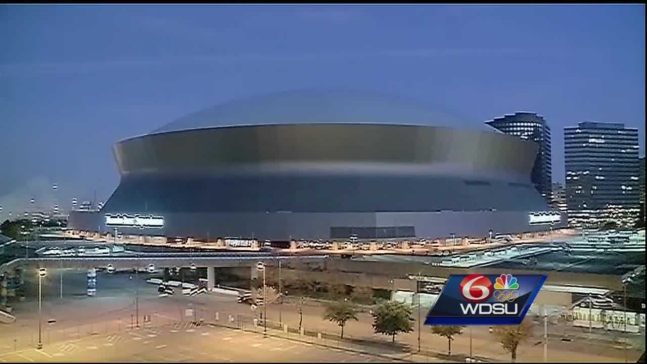 Leaders from the New Orleans Saints and the city's tourism community are in Charlotte, North Carolina, working to bring the world's biggest sporting event to the Crescent City.