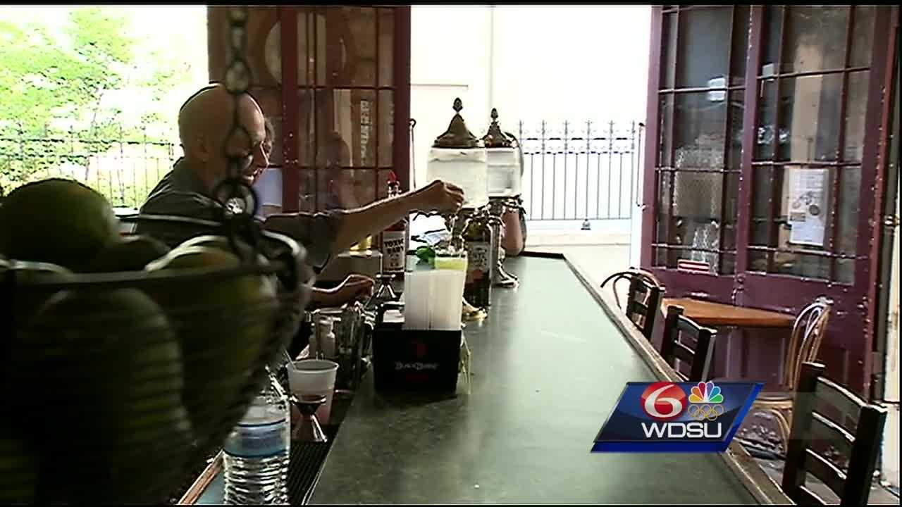 Bar or restaurant? The owner of a popular French Quarter business says a simple clerical issue could force him to shut down. Pirate's Alley Café and Absinthe House has operated as a bar for 20 years with a restaurant license.
