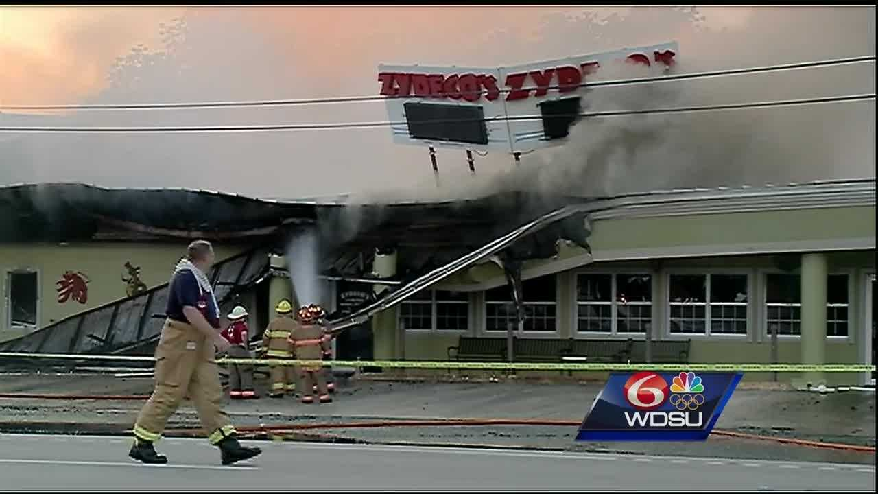 The largest restaurant in St. Charles Parish has been destroyed after a fire ripped through the building. The restaurant was closed for the Memorial Day Holiday when the fire started.