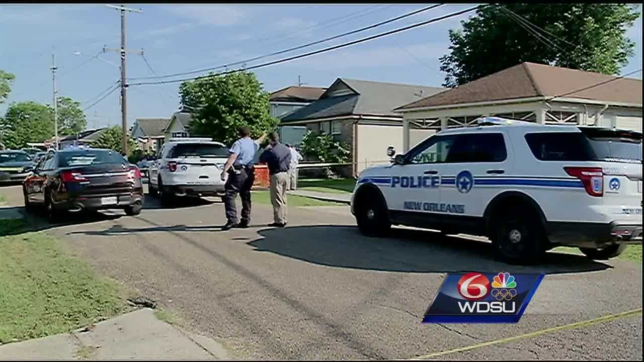 New Orleans police said the shooting was reported around 8 a.m. Tuesday in the 8900 block of Colapissa Street.