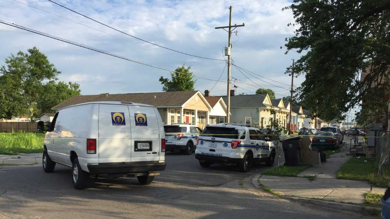 New Orleans police say a woman was killed in the 2000 block of Spain just before 7 a.m. Thursday.