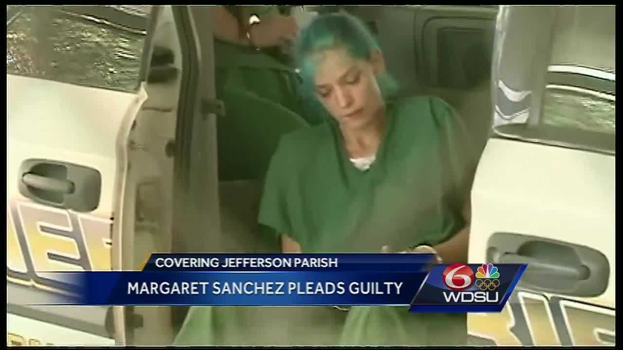A 32-year-old woman has been sentenced to 40 years in prison in the stabbing death of a Bourbon Street dancer whose dismembered body washed up along the Mississippi Gulf Coast.