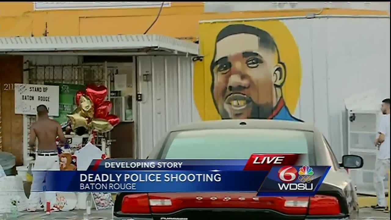 The Department of Justice is investigating the shooting that left Alton Sterling, 37, dead.