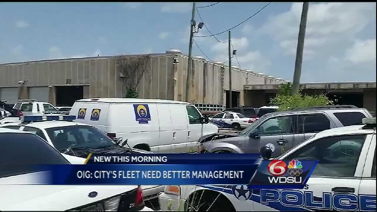 The OIG found that the way the city handles its fleet is in disarray and needs a complete overhaul.