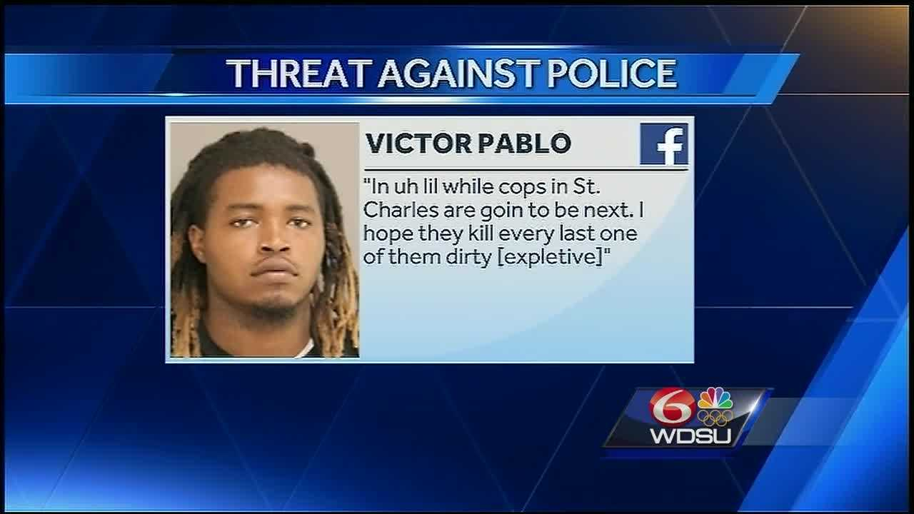 In St. Charles Parish, a social media post has landed one man behind bars.The alleged threat was made against deputies, and when officers arrested the man and searched him home, they found weapons - but people who know him say it's all a big mistake.