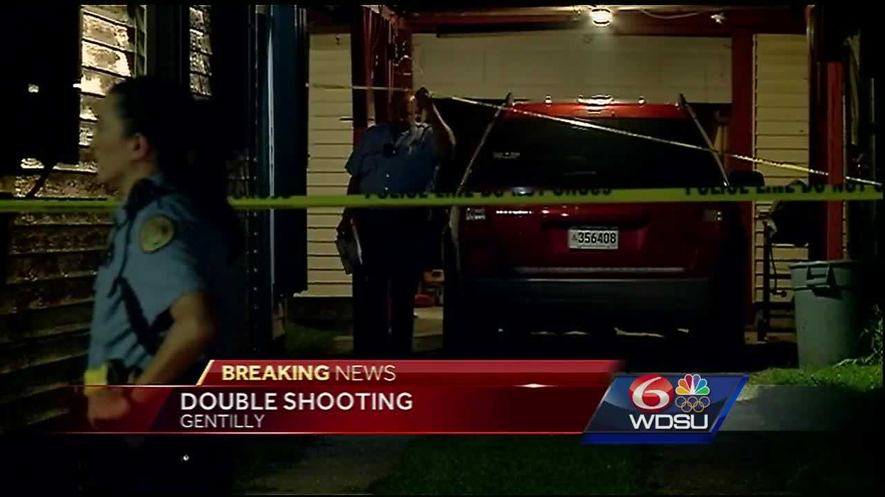 New Orleans police are investigating a double shooting in Gentilly.