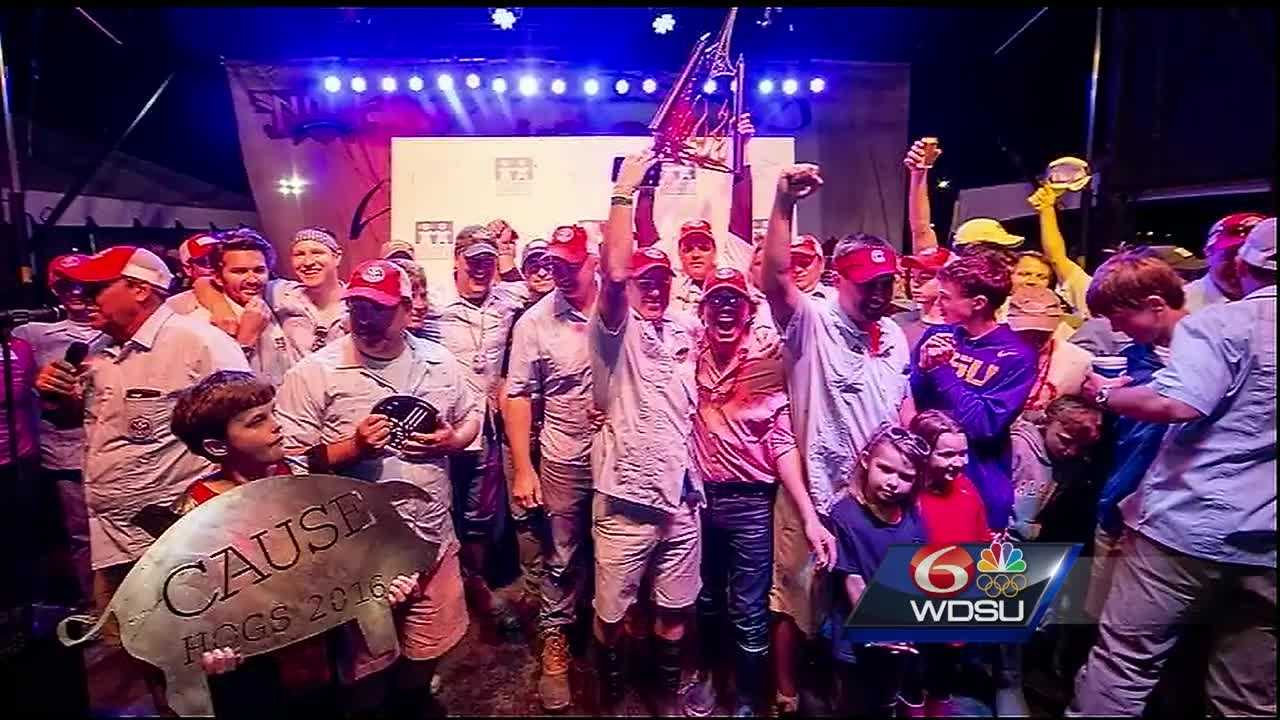 A popular, fundraising cookout is changing its venue for 2017. 'Hogs for the Cause' organizers announced Wednesday that the event will now take place at the University of New Orleans Lakefront Arena, instead of City Park.