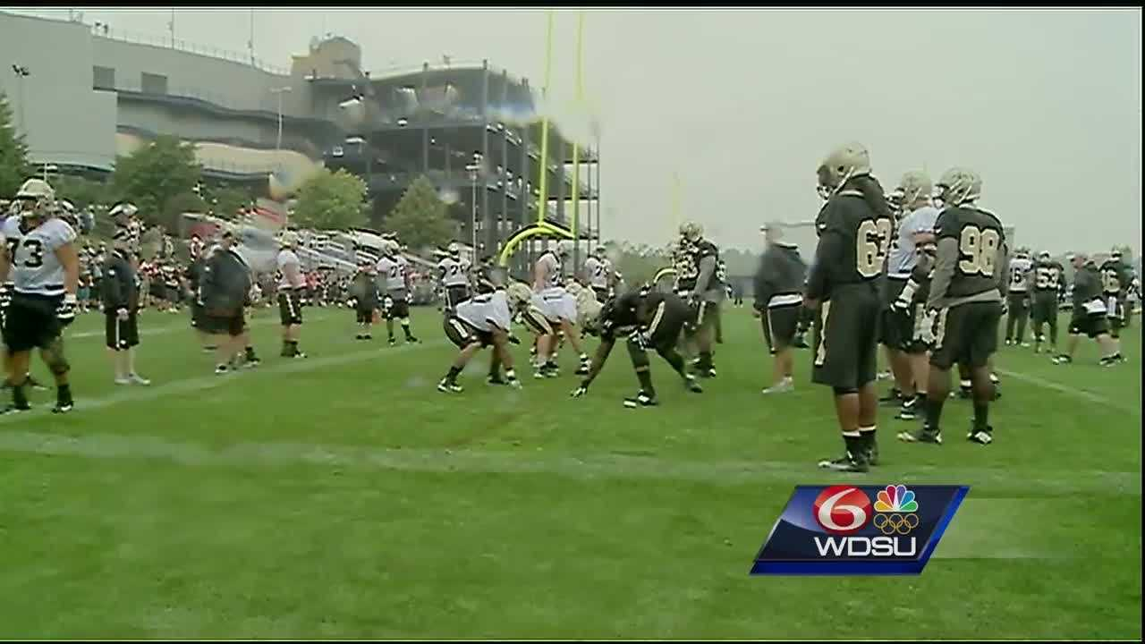 The two joint practices between the New Orleans Saints and the New England Patriots are done, and next up is the preseason Thursday night.Preseason games are very important for the drafted players and young guys trying to make the team, but when it comes to the first game, the question is how much will quarterback Drew Brees and the starters play?