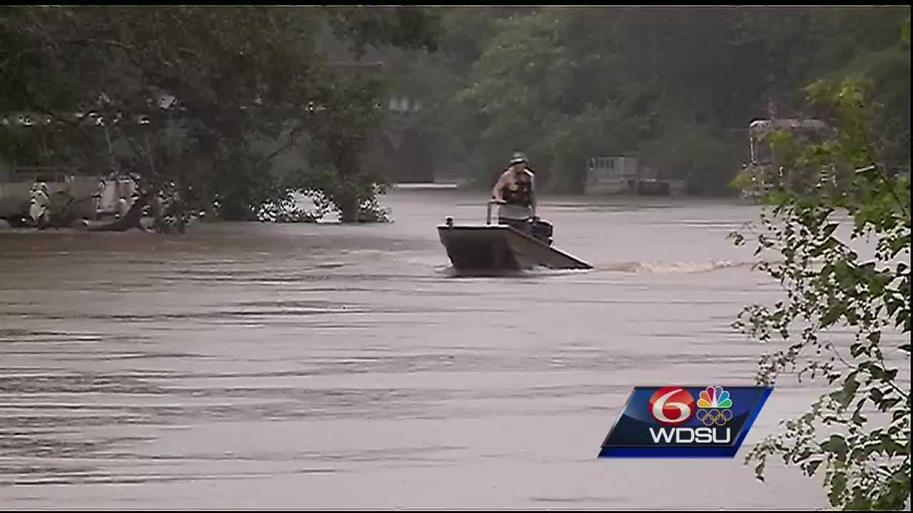 Residents in Ponchatoula brace for widespread flooding this weekend after heavy rains swept across the region.