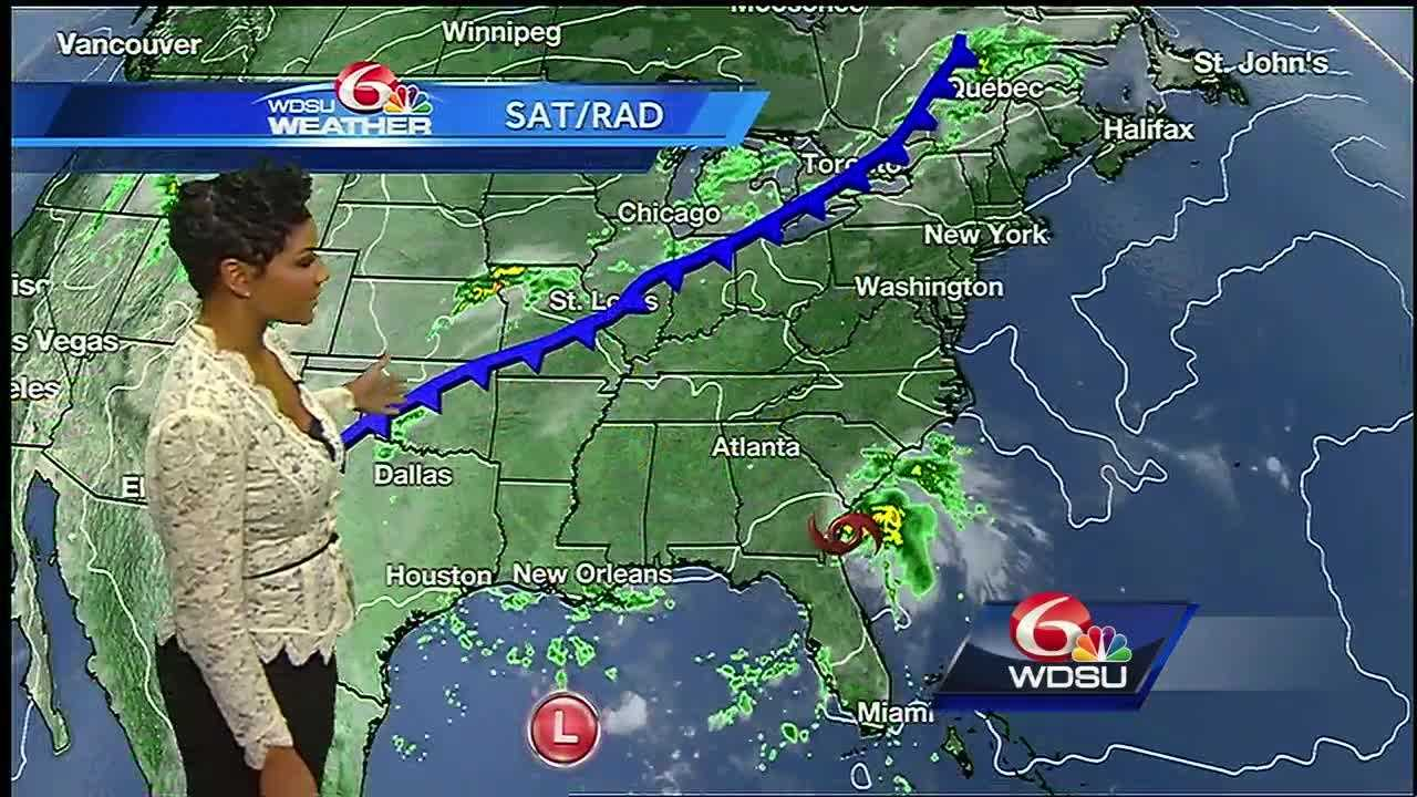 We're in for more erratic, hard-to-pinpoint scattered showers and storms for the remainder of the week. Outside of the random rain and storms, expect sun & clouds, very warm, and muggy conditions. Julia, Ian, Invest 95L, and more make up the tropics landscape right now.