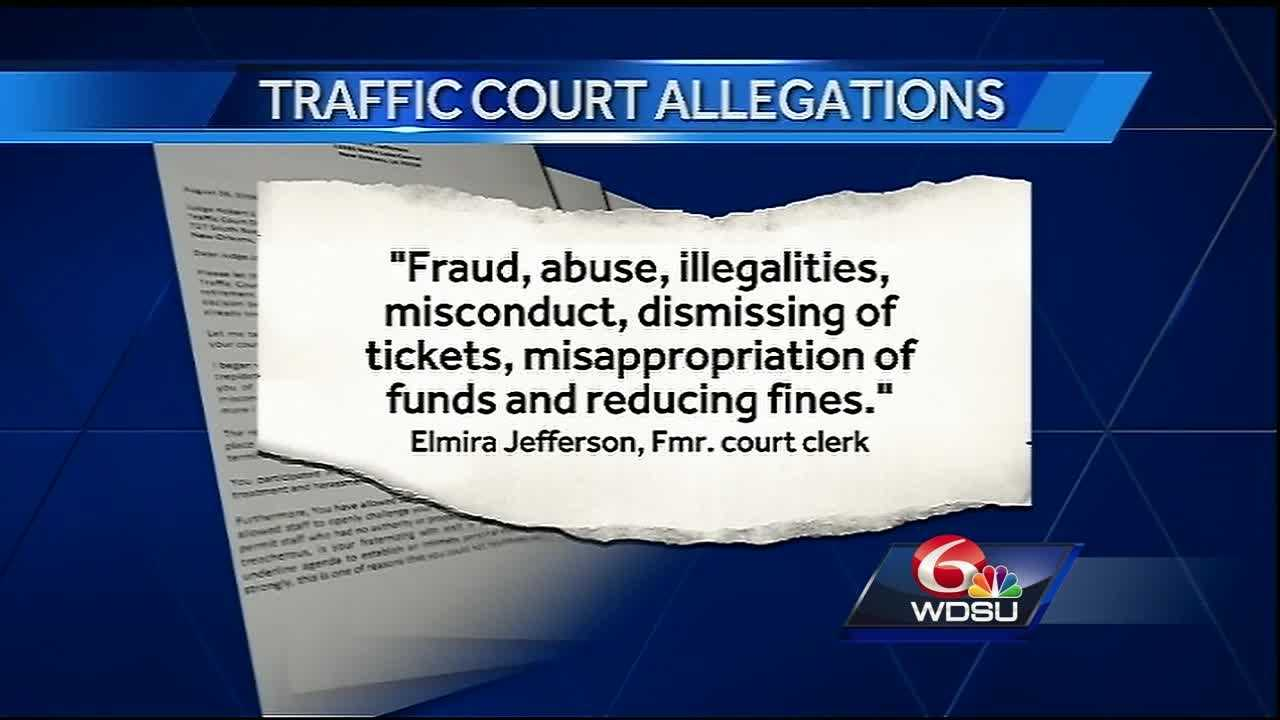 "Allegations have been made of misconduct, money mismanagement and fraud inside one judge's courtroom in New Orleans. WDSU Investigates has obtained a letter detailing what one former employee calls a ""toxic work environment."""