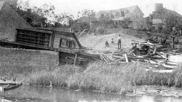 8. Great Labor Day Hurricane (1935) -- The country's first Category 5 storm of the 20th century, the Great Labor Day Hurricane killed 408 people in Florida, Georgia and the Carolinas.