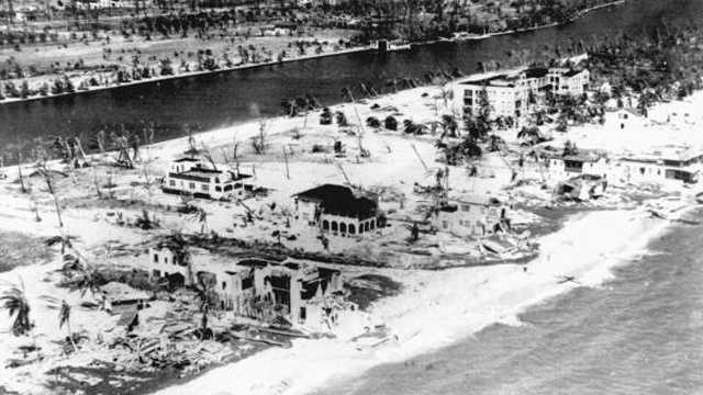 10. Great Miami Hurricane (1926) -- This Category 4 storm killed an estimated 372 people in Miami, the Florida Panhandle and Alabama.