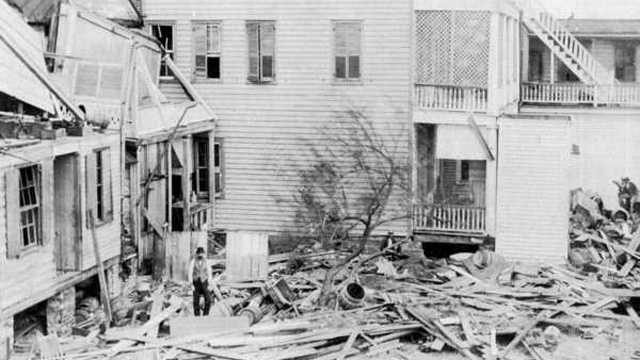 5. Sea Islands Hurricane (1893) -- Storm surge killed the majority of the 1,000 to 2,000 people estimated to have died in this Category 3 storm that made landfall in Savannah, Ga.