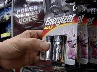 Spare batteries